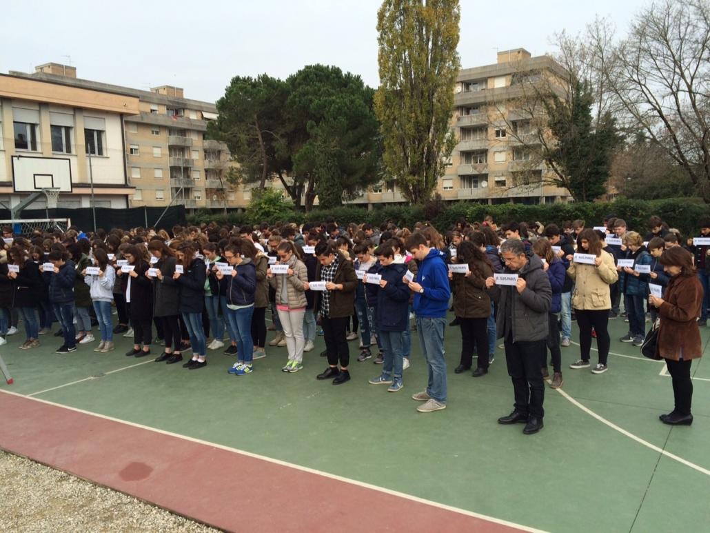 Liceo Giorgione foto di gruppo