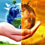 Immagine sul riscaldamento globale