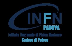 Logo Istituto di fisica Nuckeare di Padova INFN