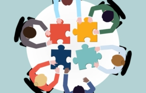 grafica indicante collaborazione