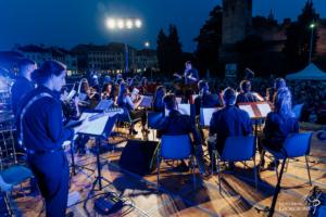 questa foto descrive un momento del concerto in piazza Giorgione del 4 giugno 2019