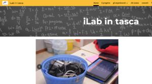 immagine della homepage del sito Ilabintasca
