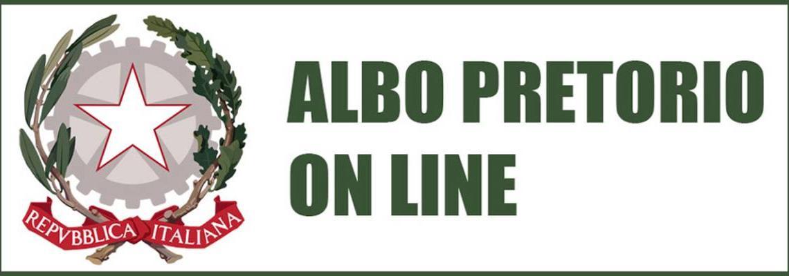 link per accedere alla pagina dell'Albo pretorio